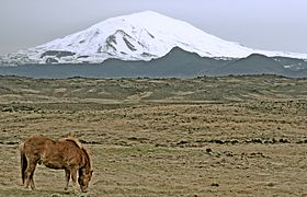 Increased seismic activity around Hekla volcano ra